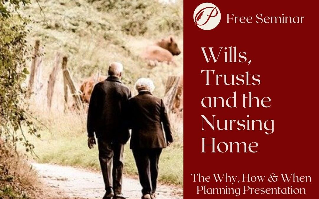 Wills and Trusts and the Nursing Home on May 6th in Lawrenceburg